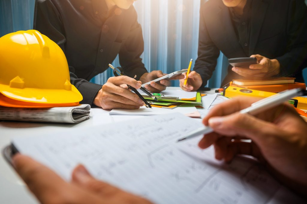 Construction and  contract workers